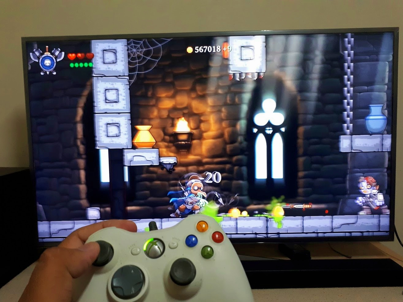 Gaming on A95X Pro 4K Android Tv Box