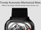 Xiaomi CIGA Automatic Mechanical Watch - BLACK