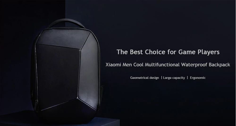 Xiaomi Men Cool Style Multifunctional Waterproof Backpack